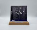 Flughafen-Uhr